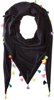 Michael Stars Tassel Party Triangle Scarf
