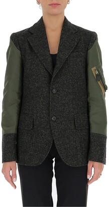 Comme des Garçons Comme des Garçons Contrast Panelled Jacket