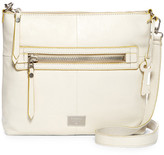 Fossil Dawson Top Zip Leather Crossbody