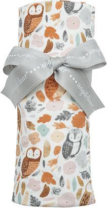 Angel Dear Girl's Autumn Owls Printed Swaddle Blanket
