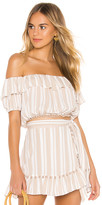 Lovers + Friends x REVOLVE Alicia Top in Beige. - size L (also in )