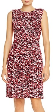 Nic+Zoe Petites Sleeveless Printed Sheath Dress