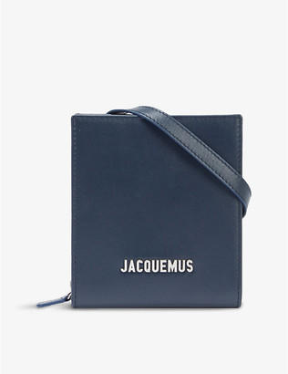 Jacquemus Le Gadjo suede cross-body bag