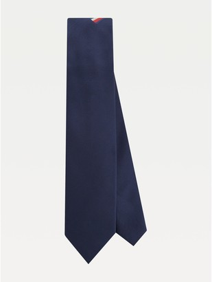 Tommy Hilfiger Silk Microprint Pocket Tie