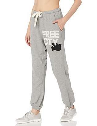 Freecity Women's superfluff pocketlux Sweatpant