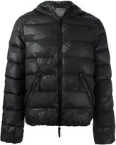 Hydrogen quilted camouflage padded jacket