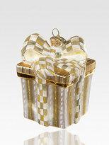 Mackenzie Childs MacKenzie-Childs Parchment Check Present Ornament