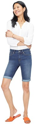 NYDJ Missy Briella Roll-Cuff Cool Embrace Shorts