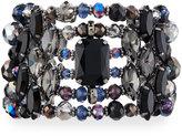 Greenbeads by Emily & Ashley Multi-Row Statement Crystal Cuff Bracelet