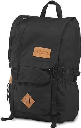 JanSport Hatchet (Black 1) Backpack Bags
