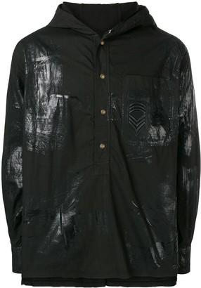 Mr & Mrs Italy Hooded Shirt Jacket