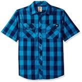 Dickies Men's Short Sleeve Buffalo Plaid Shirt