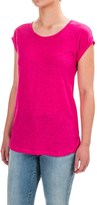 Jones New York Jones & Co Rolled Dolman Sleeve Shirt - Scoop Neck, Short Sleeve (For Women)