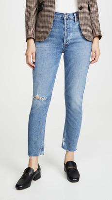 A Gold E Jamie Hi Rise Classic Jeans