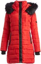 XOXO Red Long Puffer Coat
