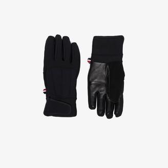 Fusalp black Glacier W panelled gloves