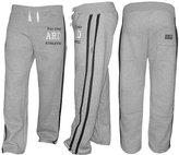 4Fit Inc Men's Joggers Cotton Fleece Jogging Trousers Pants Track Suit Bottom MMA Boxing (, 3XL)