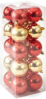 North Pole Trading Co. Winter Lodge Shatterproof Ice Red & Gold 20-pc. Christmas Ornament