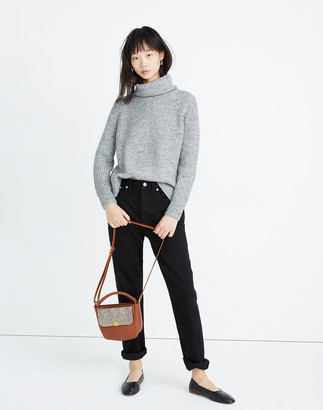 Madewell Donegal Mercer Turtleneck Sweater in Coziest Yarn