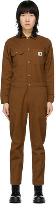 Carhartt Work In Progress Brown Tara Coveralls