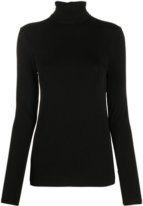 Wolford Roll Neck Long-Sleeve Top