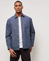 Jaeger Horizontal Stripe Overshirt