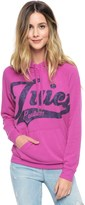 Juicy Couture Cozy Fleece Hi Lo Pullover