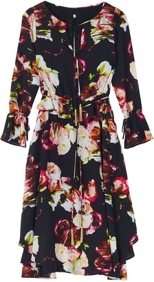 Ophelia Dark Midi Dress