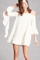 FOREVER 21+ Open-Shoulder Dress