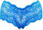Charlotte Russe Plus Size Floral Lace Cheeky Panties