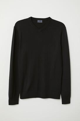 H&M V-neck Merino Wool Sweater