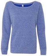 B.ella Canvas Ladies' Sponge Fleece Wide Neck Sweatshirt - 2XL