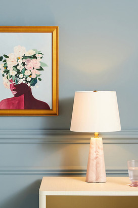 Anthropologie Jolene Petite Table Lamp By in Pink