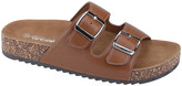 Weeboo Women's Sandals Chestnut - Chestnut Buckle-Accent Summer Sandal - Women