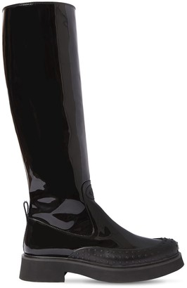 Tod's 35mm Patent Leather Tall Boots