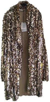 ATTICO Gold Glitter Jacket for Women