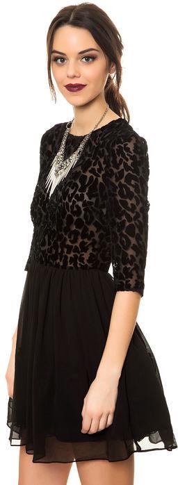 BB Dakota The Corella Animal Burnout Dress