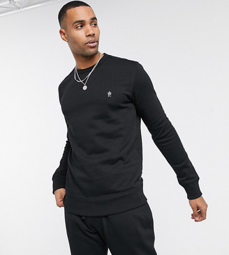 French Connection Essentials Tall sweatshirt with logo
