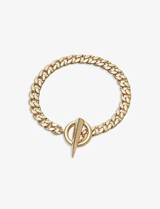 Missoma Claw T-bar chain bracelet