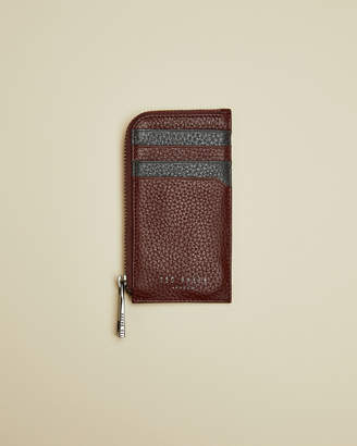Ted Baker WORCARD Leather zip around wallet
