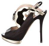 Nicholas Kirkwood Platform Slingback Sandals