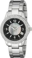 Stuhrling Original Women's 887.02 Vogue Iris Analog Display Swiss Quartz Silver Watch