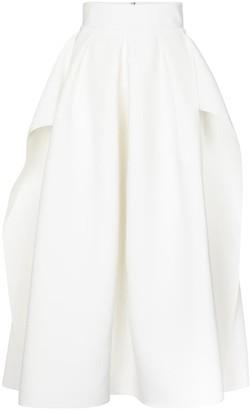 Maticevski Fondness high-rise maxi skirt