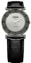 Jowissa Women's J2.004.M Roma 30 mm Silver Dial Roman Numeral Leather Watch