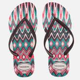 Havaianas Women's Tribal Slim Flip Flops