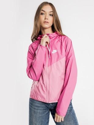 Nike NSW Windrunner Jacket in Pink