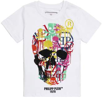 Philipp Plein Diamante Skull T-Shirt