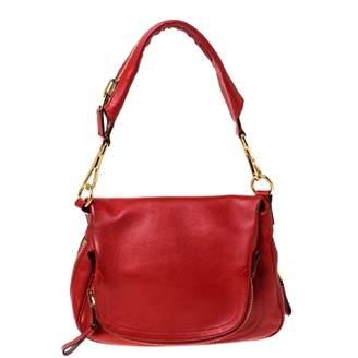 Tom Ford Jennifer Red Leather Handbags