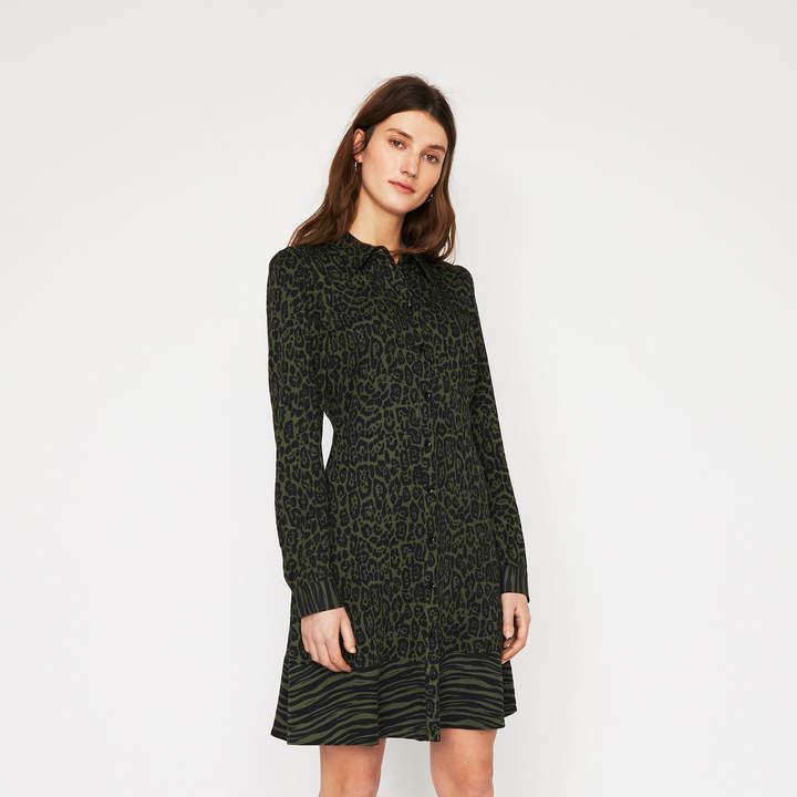 c0a6bbd1b8db Warehouse Animal Print Dress - ShopStyle UK