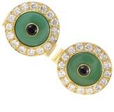 Boucheron 18K Yellow Gold Enameled Diamond & Onyx Cufflinks
